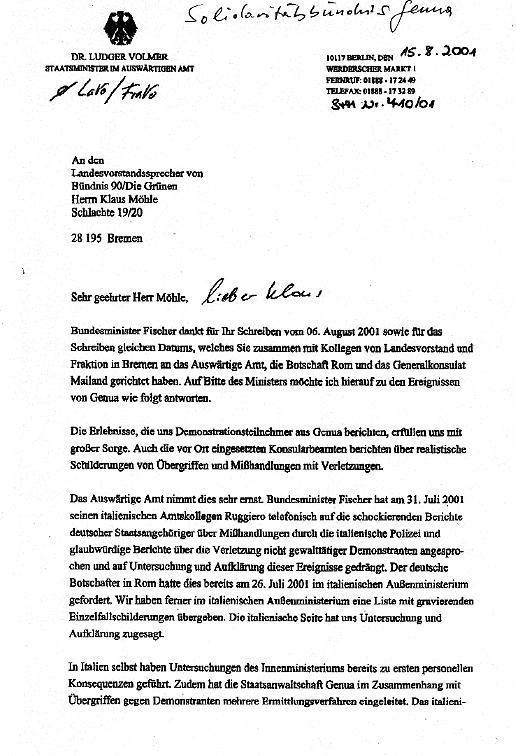 Jörg Hutter Polizeiwillkür In Genua